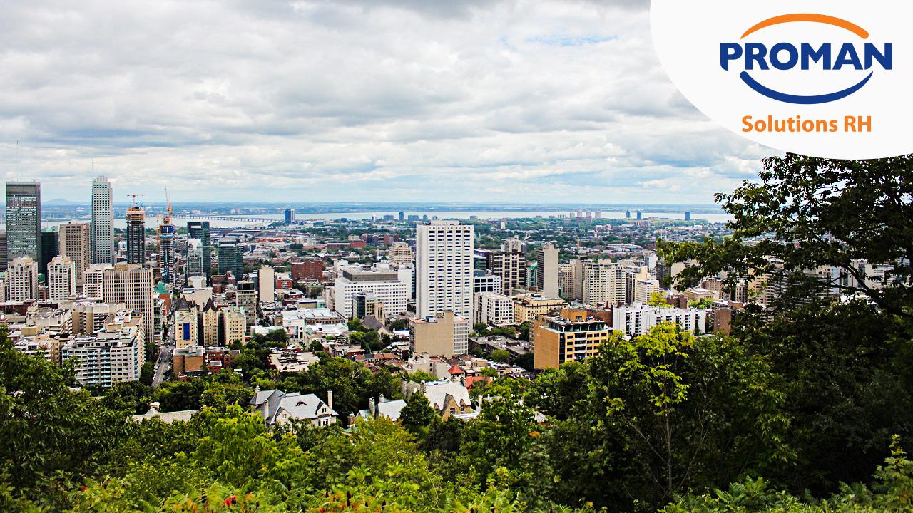 Vue Montréal Proman-Solutions-RH